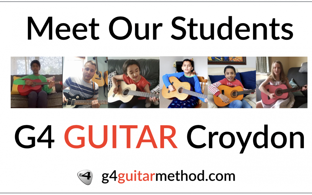 G4 Guitar Students 2020